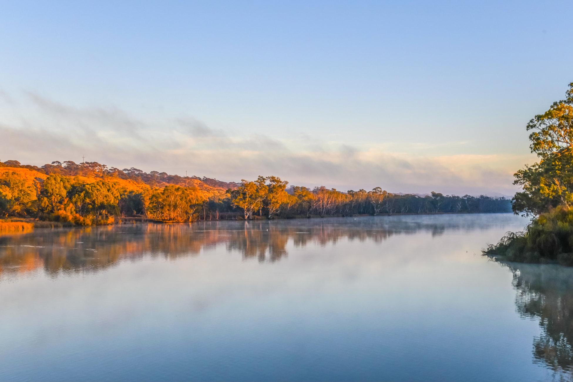 Sunrise on the Murray