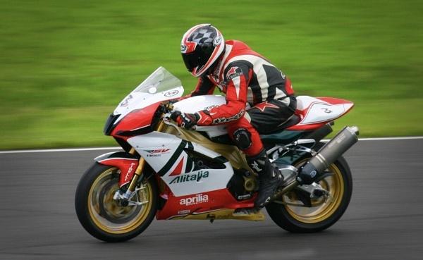 Knockhill motorbike race by Eckyboy