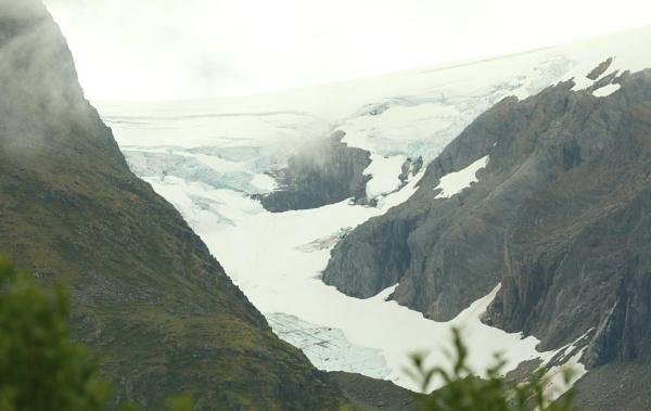 Misty Glacier by mikekay
