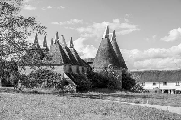 Kilns at Sissinghurst Castle,Kent by Aveeno