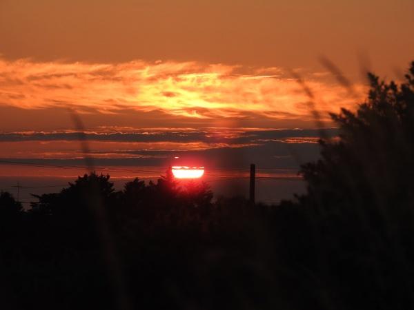 Firery sunset  by Alan26