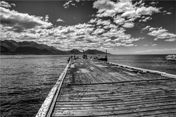Wooden Pier by blrphotos