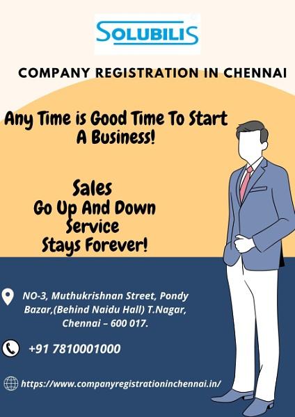 Company Registration in Chennai classified by compregchn