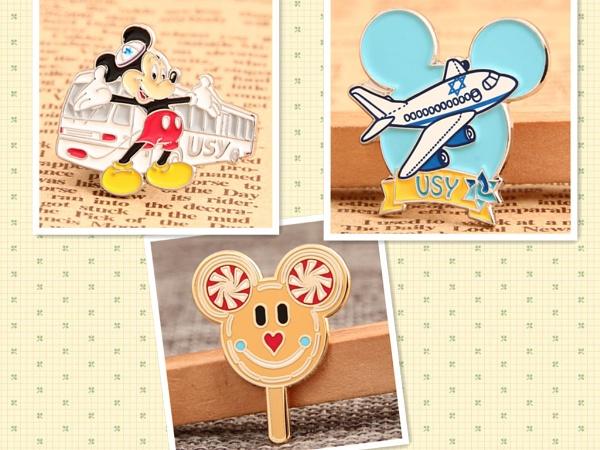 High quality custom enamel pins by hardenamelpins