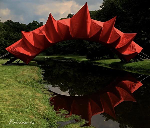 Troubled bridge over water 2 by Ericsamson