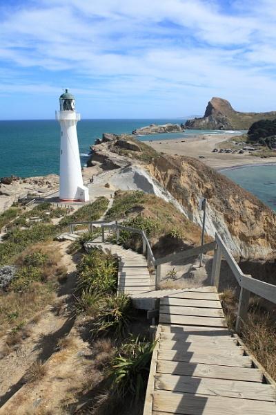 Castle Point Light House, Wairarapa Coast, North Island N.Z. by Nigel_NZ