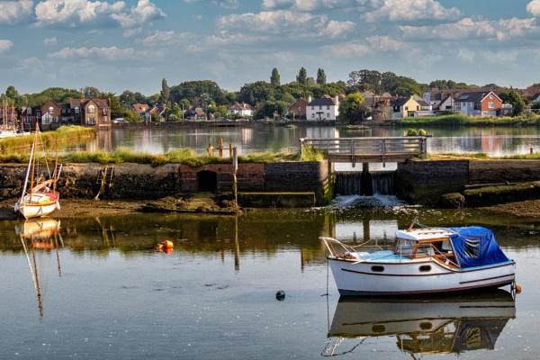 Mill Pond & Sluice by blrphotos