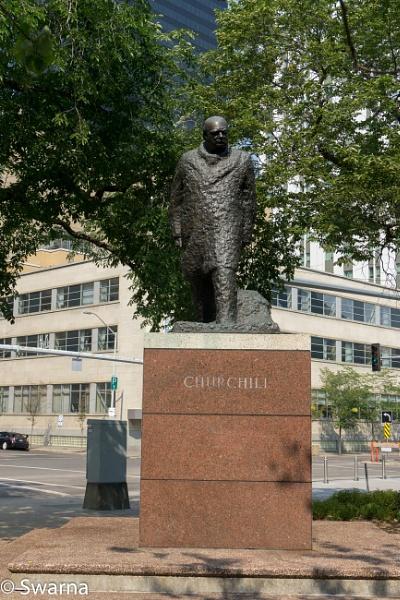 Churchill... by Swarnadip