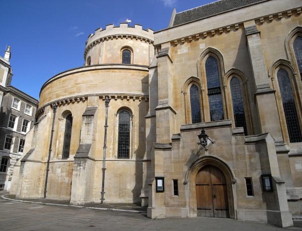 Temple Church, London by digichromeed