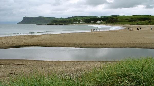 Ballycastle Strand, North Antrim Coast, Northern Ireland by digichromeed