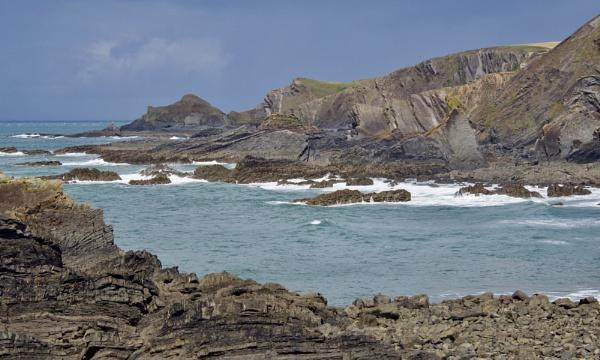 Coast near Hartland Quay by prtd