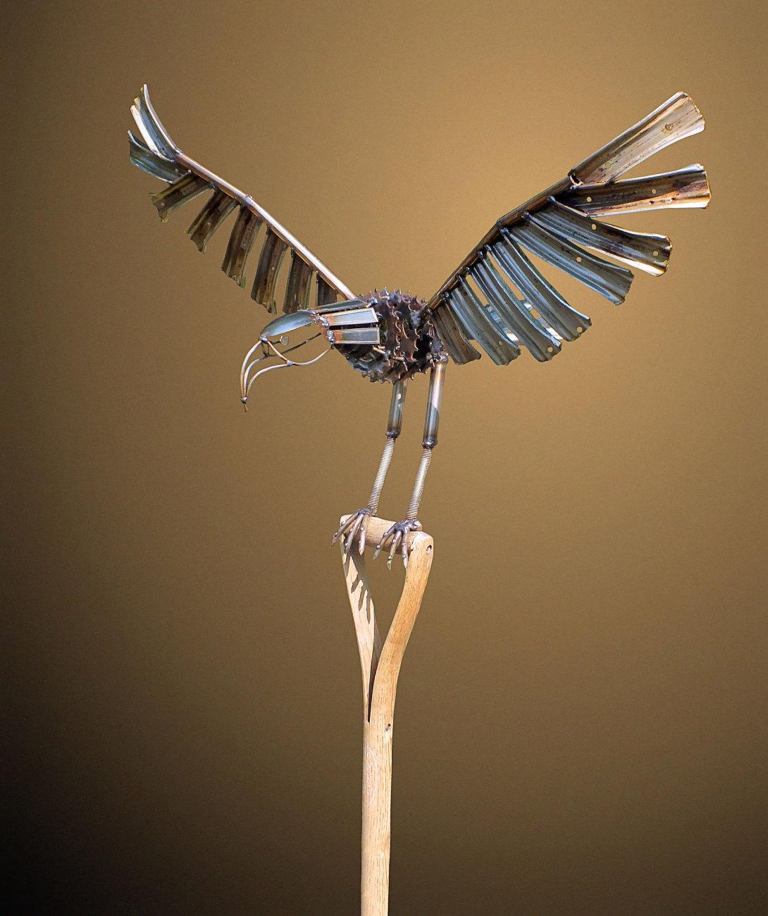 Eagle on a Border Fork 2