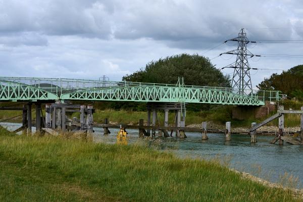 Southease Swing Bridge by JJGEE