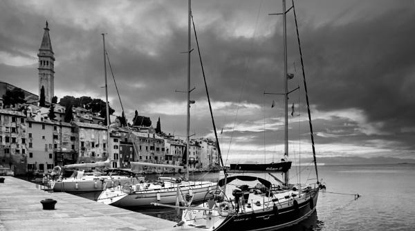 Rovinj Harbour by Ffynnoncadno
