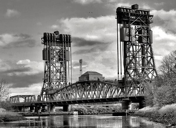Mono Newport Bridge Middlesbrough. by georgiepoolie