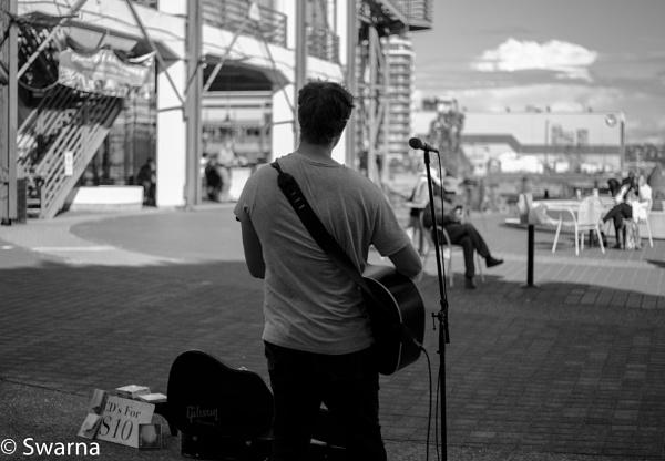 Guitarist V... by Swarnadip