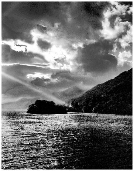 Loch Tay Storm Cloud by mac