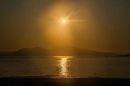 Sun Setting Over Mull