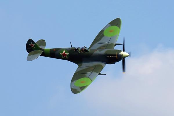 Russian Spitfire by mungoray