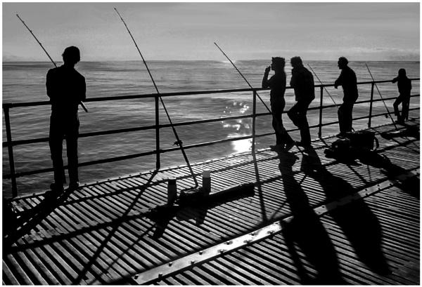 Blackpool Fishermen by mac