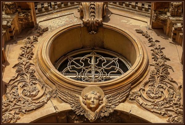 St Nicholas Church Siggiewi (Side Portal Entrance Archway) by Edcat55