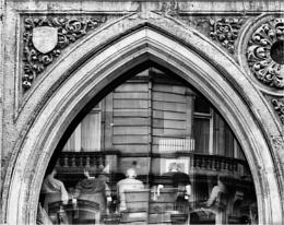 A pub window.