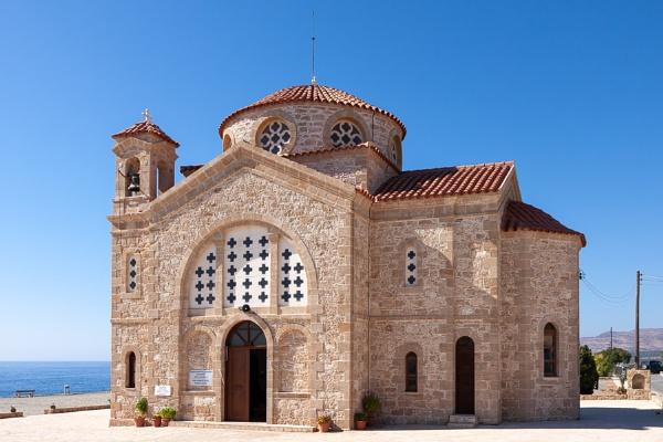 CAPE DEPRANO, CYPRUS, GREECE - JULY 23 : Church of Agios Georgio by Phil_Bird
