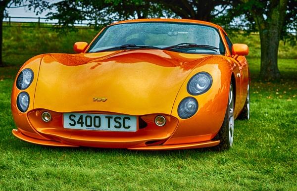 Orange TVR by Gordonsimpson