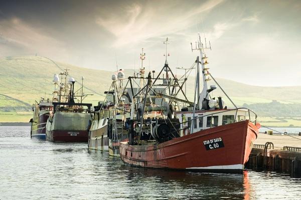 Dingle Boats by SamCampbell