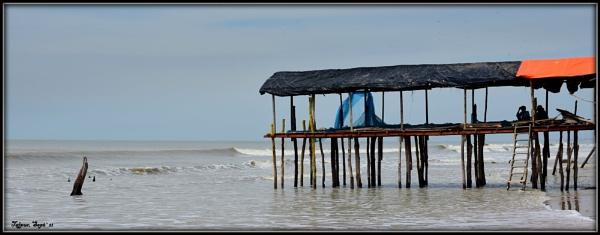 Solitude beach by Manas