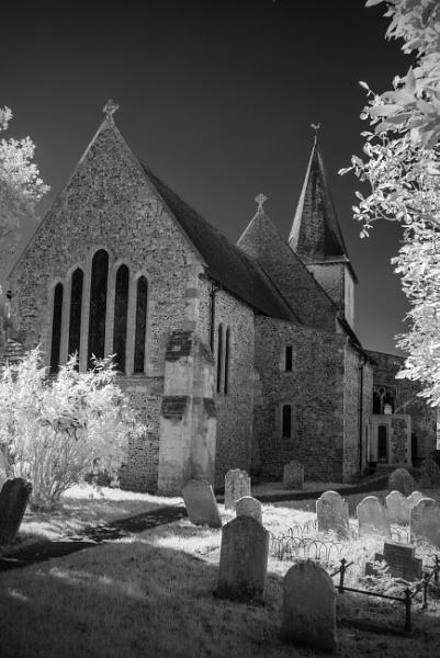 Bosham Church in IR by altitude50