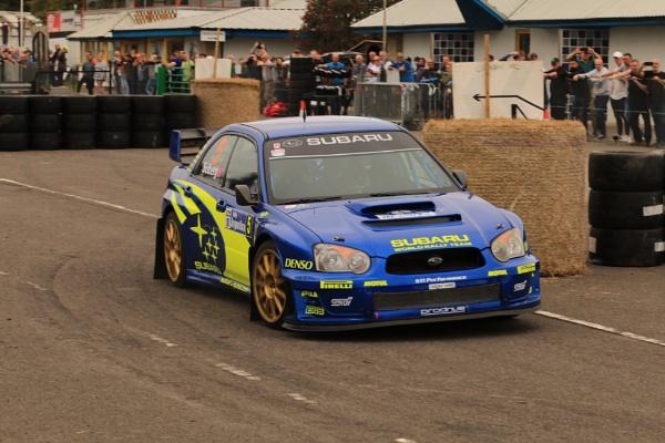 Subaru rally car by Paintersmate12