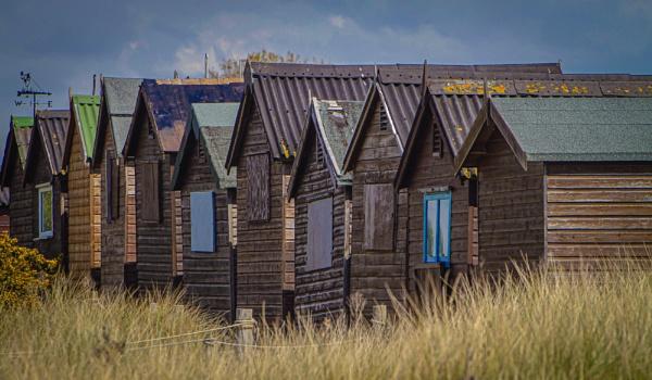 Beach Huts by RonDM