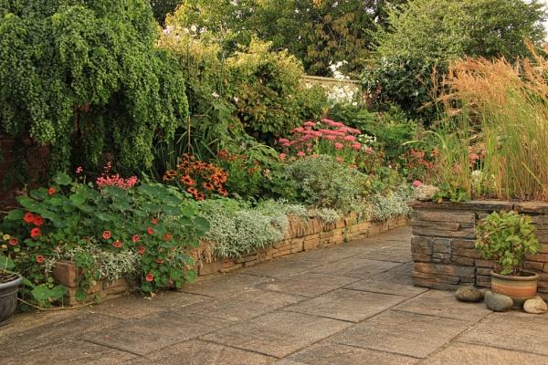 September Garden by canoncarol