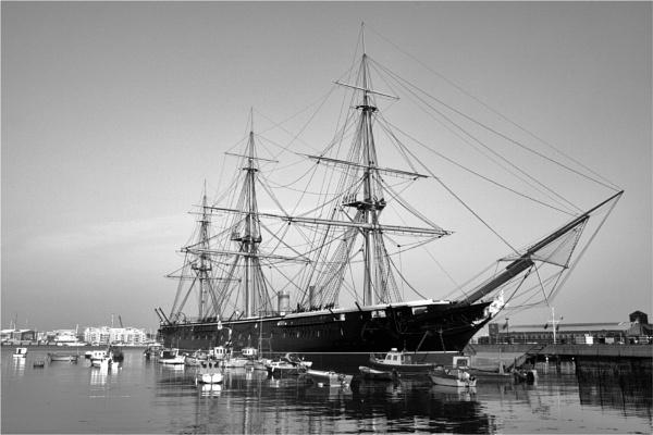 HMS Warrior by blrphotos