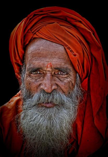man in saffron3 by sawsengee