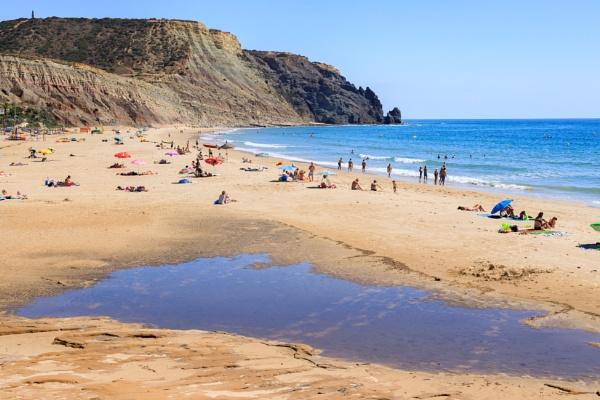 Luz Beach, Algarve by Neopolis