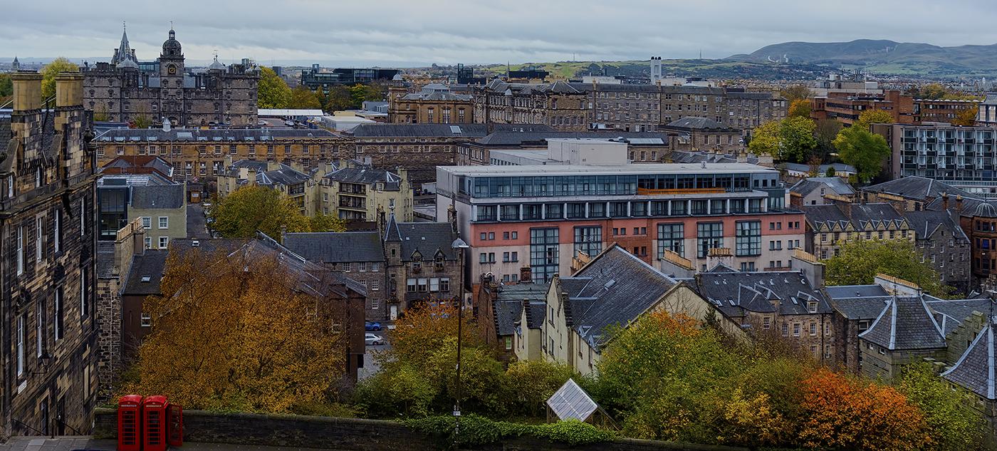 Over looking part of Edinburgh