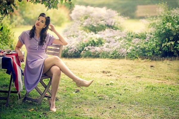 Kelly in the garden by kenp666