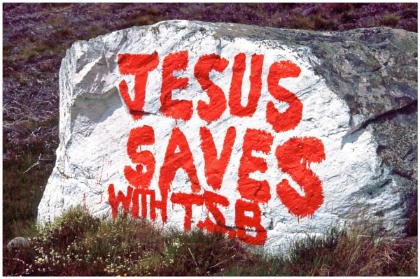 Jesus Saves by mac