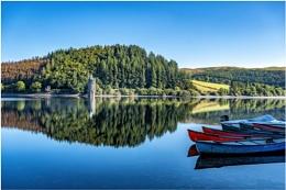 Lake Vyrynwy Reflections.