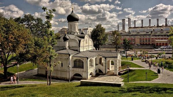 old church * (see v.1, v.2 and v.3) by leo_nid