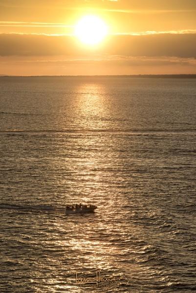 Solent Sunset 3 by IainHamer
