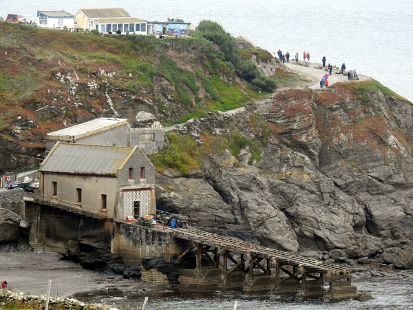 The old disused Lizard Lifeboat station, Polpeor Cove by Alan26