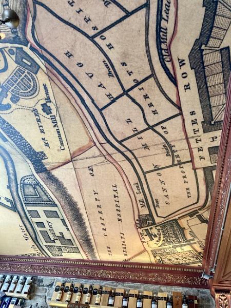 Edinburgh Pub Ceiling. by Pinarellopete