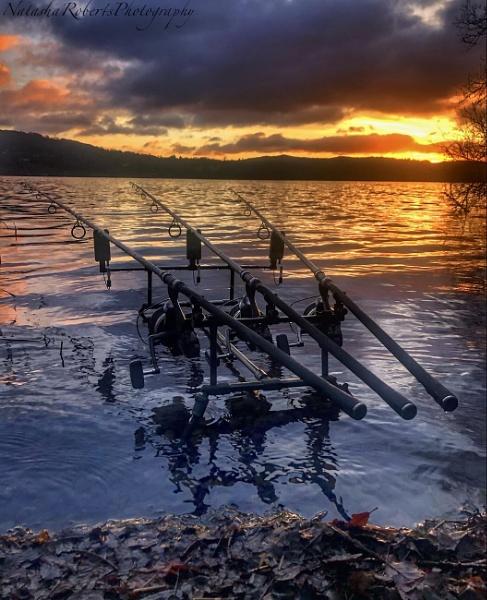 Sunset fishing on Windermere by Natz88895