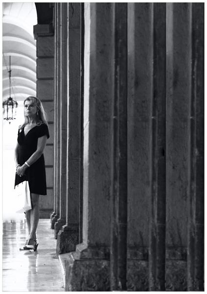 fare bella figura (la donna) by bliba