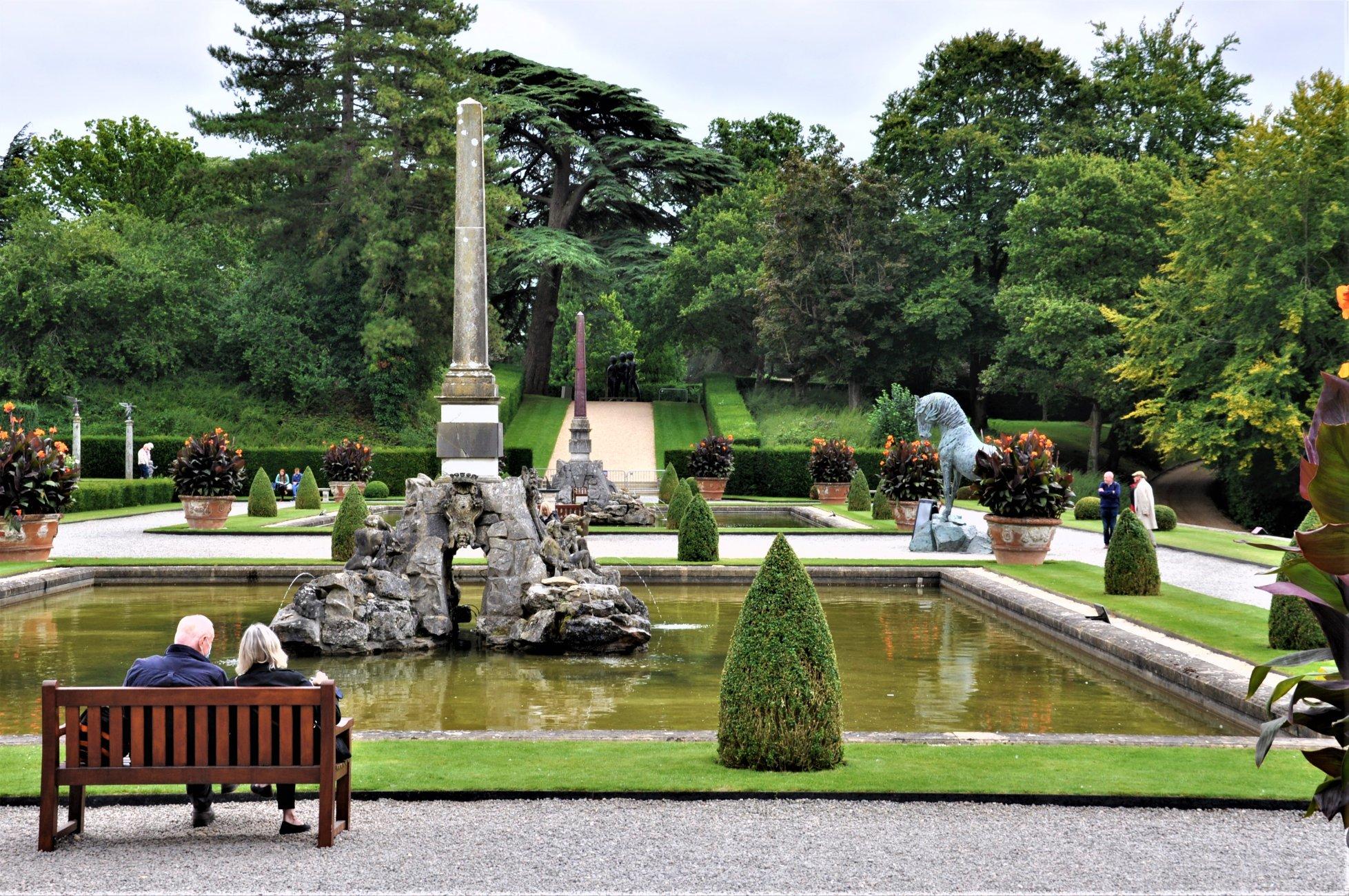 Garden View - Blenheim Palace
