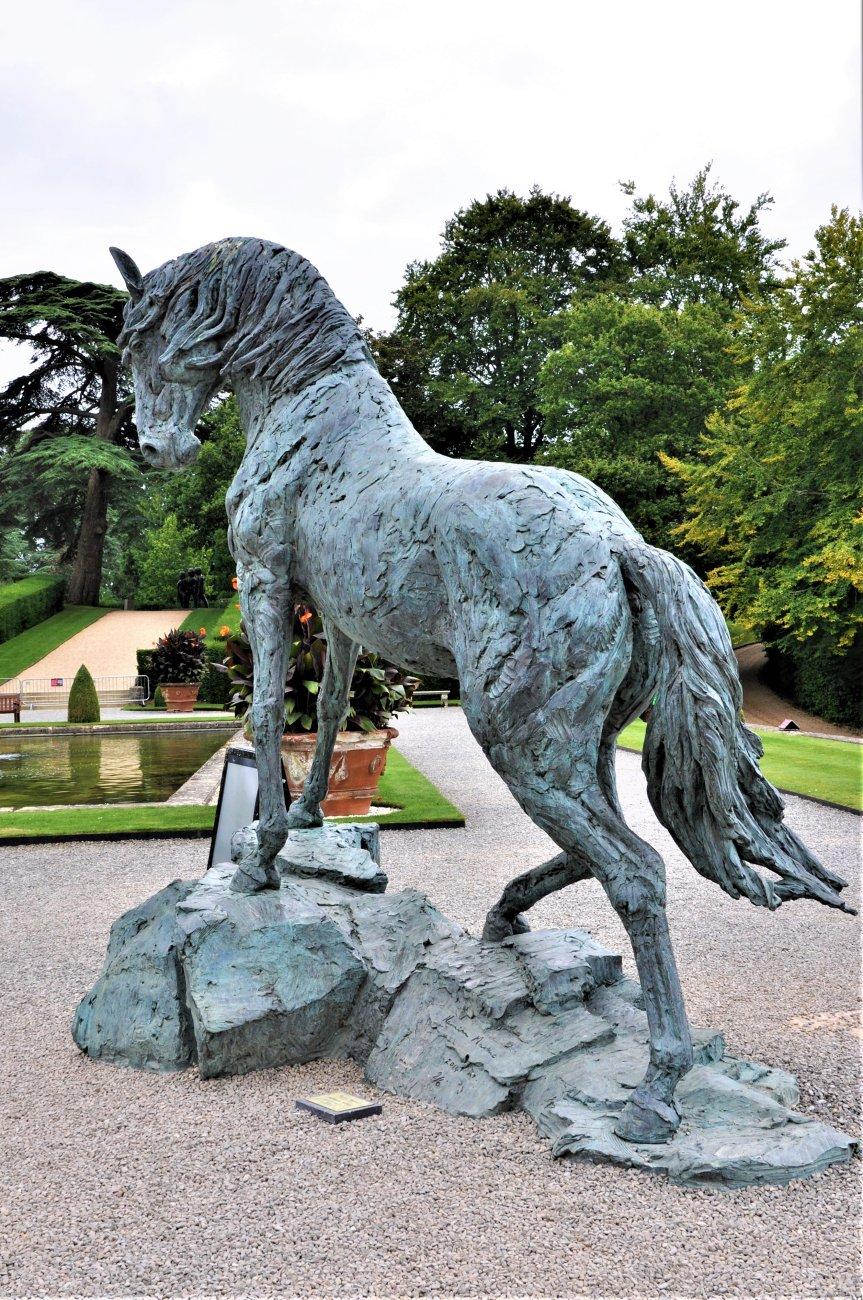 Blenheim Horse Sculpture