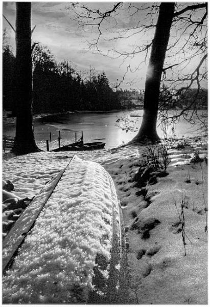 Winter Boat by mac